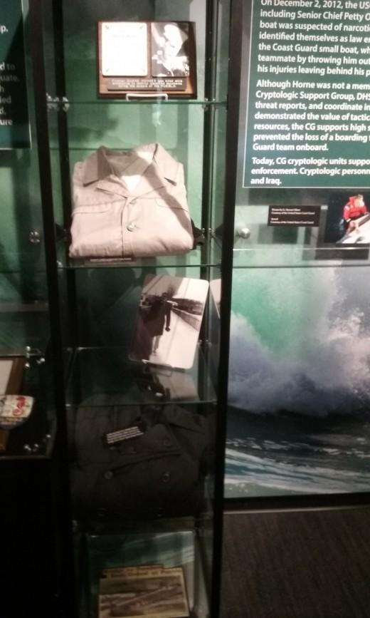 Part of the USS Pueblo exhibit.