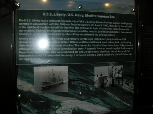 The USS Liberty Exhibit