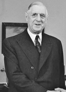 Charles De Gaulle: French leader during the Algerian War for Independence, and strong believer in maintaining the French Empire.