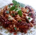 Greek Grandmas Octopus with Pasta Cooking Recipe