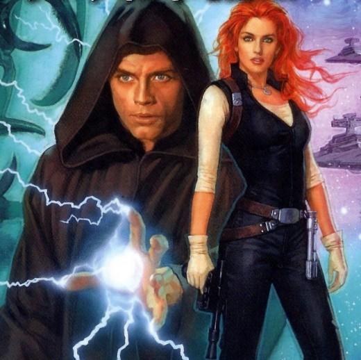 Luke and Mara Jade Skywalker