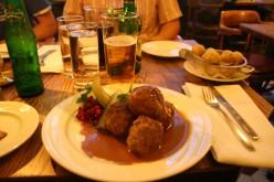 Swedish Meat Balls In Dill Cream Sauce