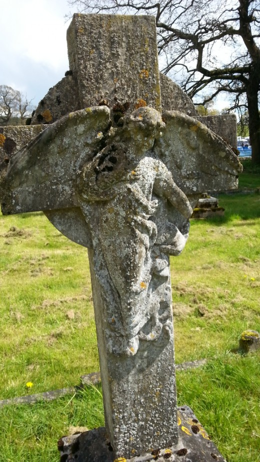 Is the White Lady of Worstead a guardian angel?