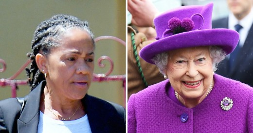 Doria Ragland and Queen Elizabeth