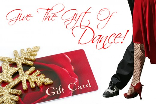 Gift cards and gift certificates to your dancer's favorite local dance studio are a great gift idea.