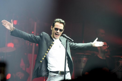 Marc Anthony is a very famous salsa singer and usually gives fantastic concerts! Go if you can!