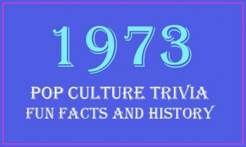 Fun Facts & Trivia From 1973