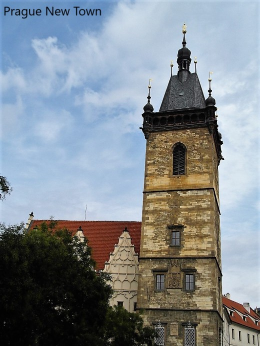New Town Hall, Prague.