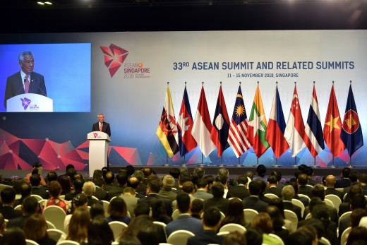 33rd ASEAN Summit in Singapore, 2018