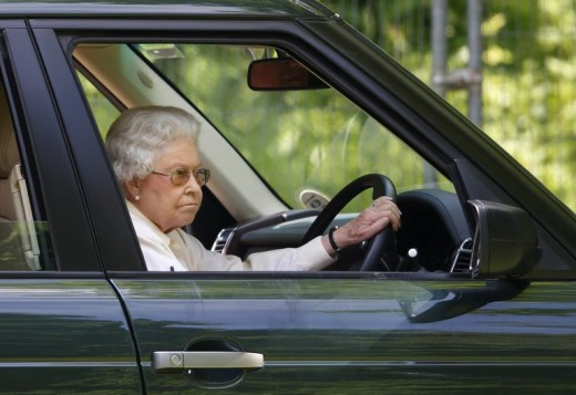 Queen Elizabeth still drives at 92 years old.