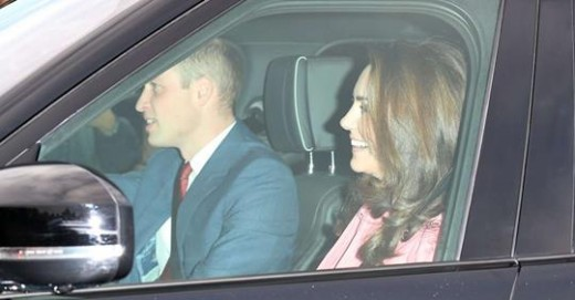 Prince William is driving.