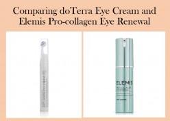 Comparing Doterra and Elemis Anti-Aging Eye Creams