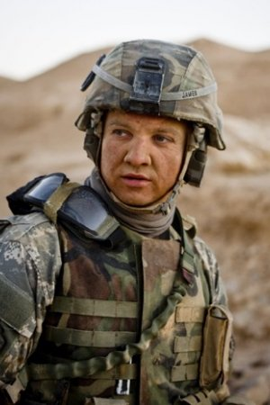 Excellent actor Jeremy Renner in The Hurt Locker the movie.