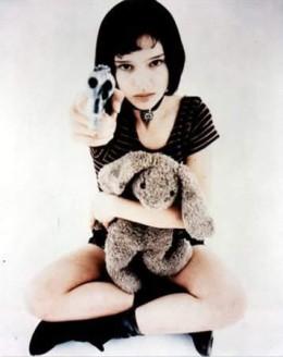 Natalie Portman as a child