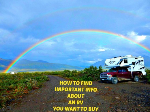 How to learn all you can about an RV before you buy it.