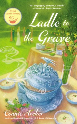 Book Review: Ladle to the Grave by Connie Archer