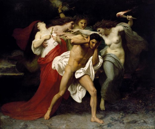 The Furies Torment Orestes