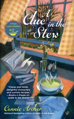 Book Review: A Clue in the Stew by Connie Archer