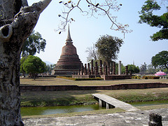 A Thai dagoba.