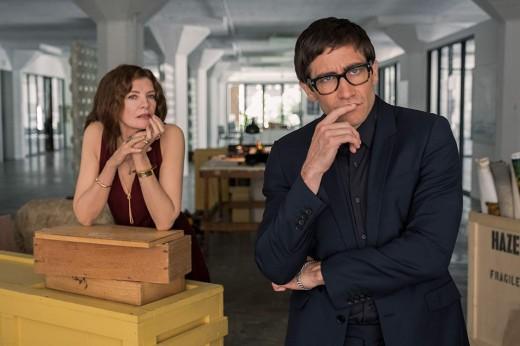 """Rene Russo and Jake Gyllenhaal as Rhodora Haze and Morf Vandewalt in Dan Gilroy's, """"Velvet Buzzsaw."""""""