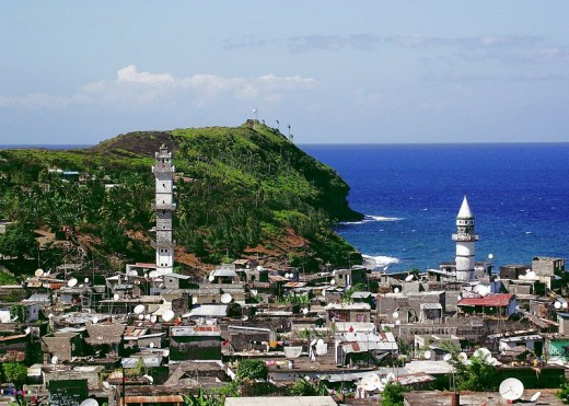 Anjouan, one of the Comoro Islands.