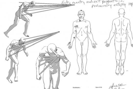 Michael Brown Autopsy Bullet Trajectory