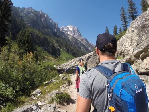 Hiking in Grand Teton