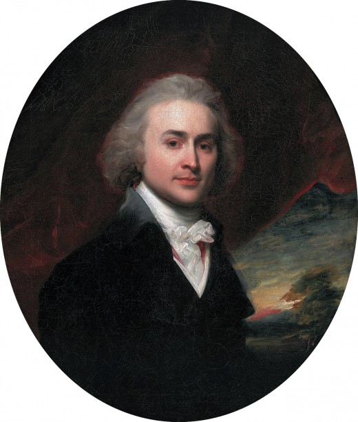 Portrait of John Quincy Adams by John Singleton Copley (1796)