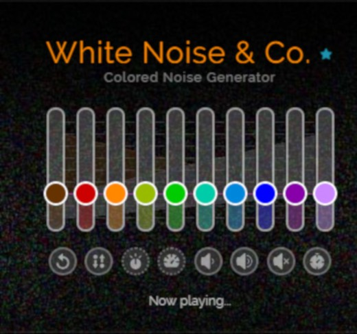 A white noise generator.