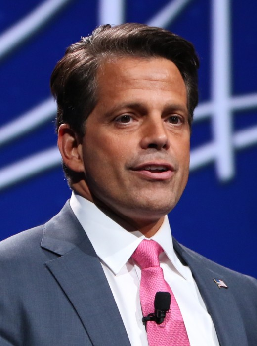 Anthony Scaramucci, Former White House Director of Communication for only 10 days