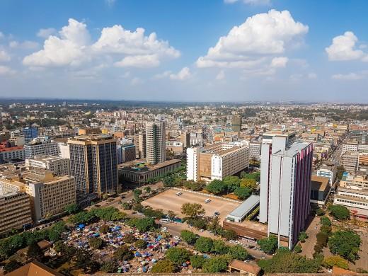 Part of Nairobi city
