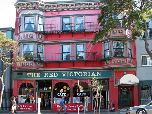 The Red Victorian Cafe
