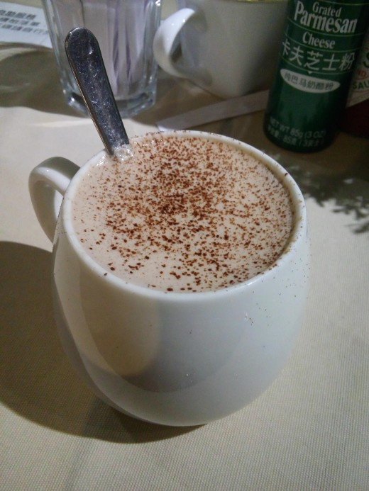 A mug of hot chocolate or warm milk sprinkled with nutmeg can work as a mild sedative.