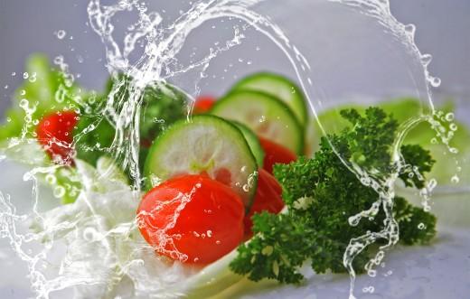 salad fresh vegetables