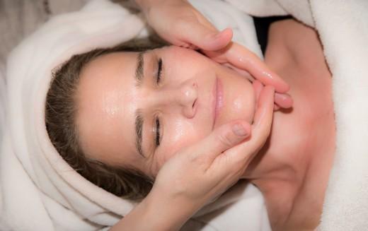 relax, face massage