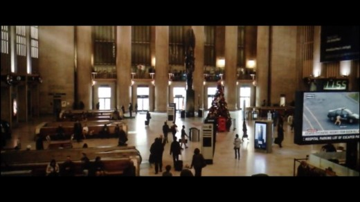 Full Circle - Ends with a New Origin, where it all began.. Interestingly enough Elijah's birth was the first thing shown in the franchise and Glass is namesake to his alter ego, Mr. Glass!.. (Philadelphia's Landmark, 30th Street Station).