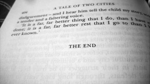 Ending lines of A Tale of Two Cities
