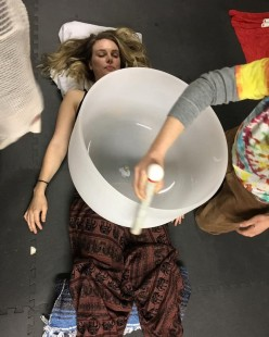 Ancient Healing With Crystal Singing Bowls