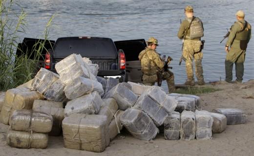 Drugs found on Mexico Border