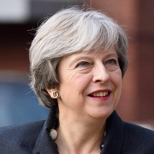 Prime Minister May.