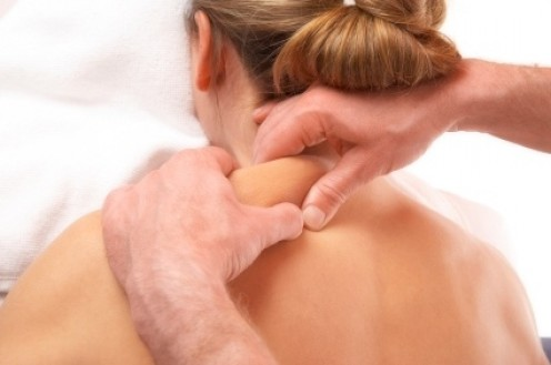 Without hitting the bone, this muscle needs firm but not more painful massage. It gets very tense and this helps relax that tendon and muscle.