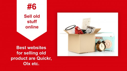 Sell old stuff online