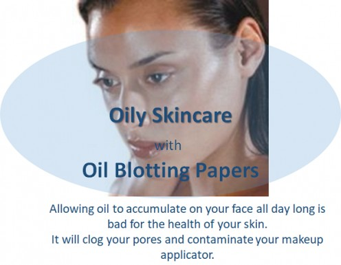 How to Use Facial Blotting Papers to Blot Oil From Your Face