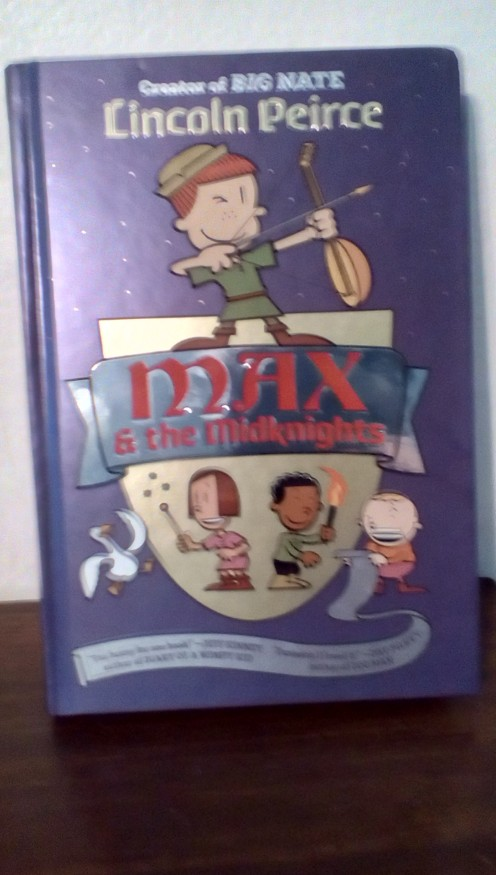 Fun new graphic novel from best-selling author Lincoln Peirce