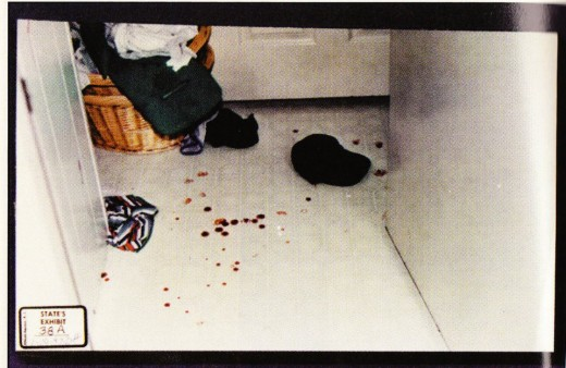 Darlie described the intruder as wearing a black cap and black t shirt, so why didn't the police take all the items that were laying next to the black cap?