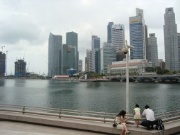 View From Marina, Singapore