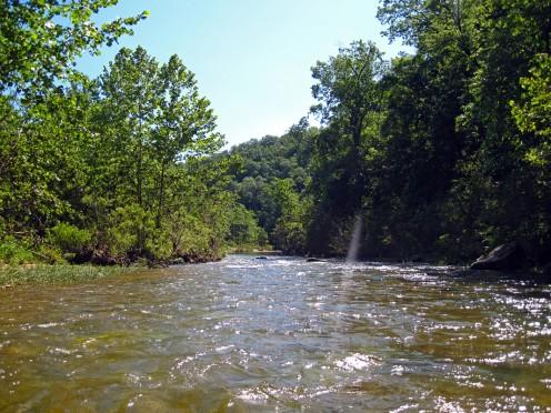 A scene on the Jack's Fork River