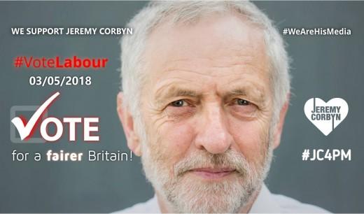 Labour leader:  Jeremy Corbyn