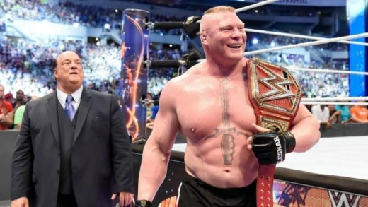 Lesnar is still the MVP of WWE