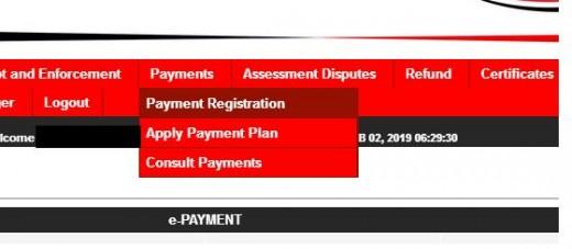 Payment Registration